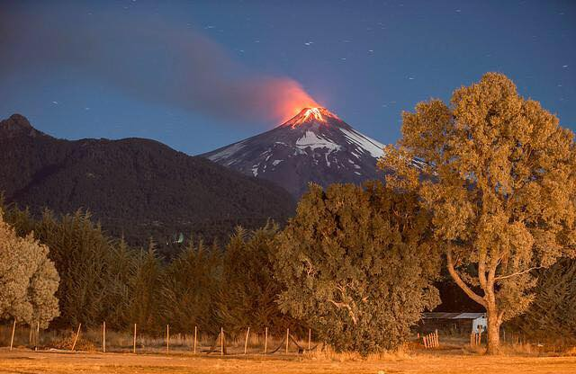 eruption chile volcano