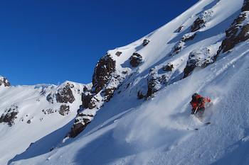chapelco backcountry skiing